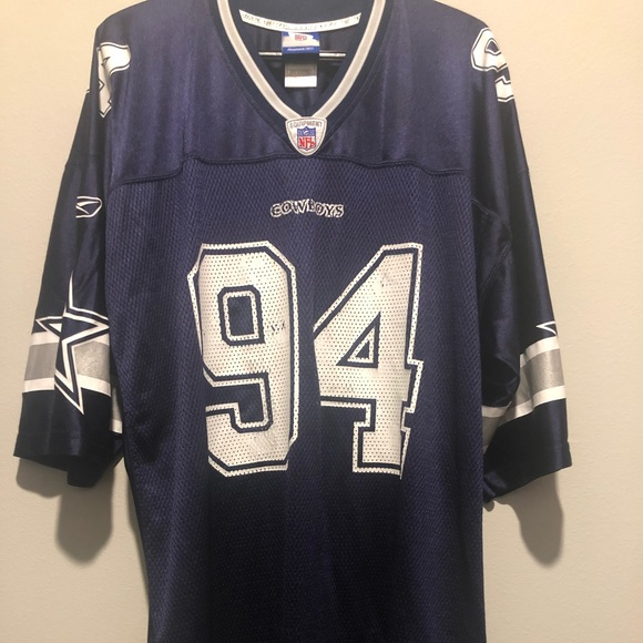 low cost 2ca57 8c796 Vtg Reebok Dallas Cowboys Demarcus Ware #94 Jersey